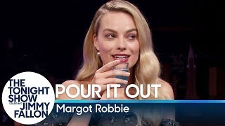 Margot Robbie and Jimmy take turns giving answers to personal questions that only they know, forcing each other to take a mystery shot if they refuse to reveal the question.  Subscribe NOW to The Tonight Show Starring Jimmy Fallon: http://bit.ly/1nwT1aN  Watch The Tonight Show Starring Jimmy Fallon Weeknights 11:35/10:35c Get more Jimmy Fallon:  Follow Jimmy: http://Twitter.com/JimmyFallon Like Jimmy: https://Facebook.com/JimmyFallon  Get more The Tonight Show Starring Jimmy Fallon:  Follow The Tonight Show: http://Twitter.com/FallonTonight Like The Tonight Show: https://Facebook.com/FallonTonight The Tonight Show Tumblr: http://fallontonight.tumblr.com/  Get more NBC:  NBC YouTube: http://bit.ly/1dM1qBH Like NBC: http://Facebook.com/NBC Follow NBC: http://Twitter.com/NBC NBC Tumblr: http://nbctv.tumblr.com/ NBC Google+: https://plus.google.com/+NBC/posts  The Tonight Show Starring Jimmy Fallon features hilarious highlights from the show including: comedy sketches, music parodies, celebrity interviews, ridiculous games, and, of course, Jimmy's Thank You Notes and hashtags! You'll also find behind the scenes videos and other great web exclusives.  Loaded Questions with Margot Robbie http://www.youtube.com/fallontonight  #FallonTonight #MargotRobbie #JimmyFallon