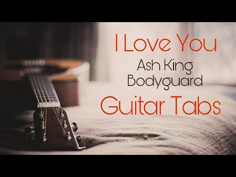 I love you guitar tab:-Bodyguard