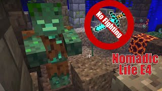 No Attacking Or Killing ANY Type Of Mob Challenge! Nomadic Life E4