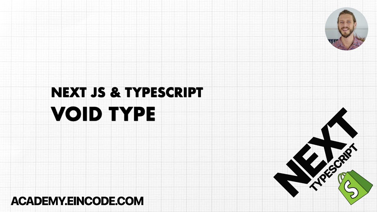 Typescript #24 Void Type | Next JS & Typescript with Shopify Integration (From Course)