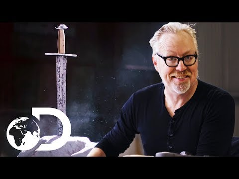 Adam's Meteorite Sword's Design Is Inspired By King Arthur's Excalibur | Savage Builds