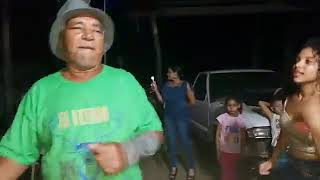 Bailando Música punta de Honduras esta Don Blas que bonito baila
