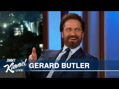 Gerard Butler on Morgan Freeman, Nick Nolte, Michael Cohen & Malibu Fire