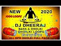 New 1000 ALL BPM Hard Bass and Dholki Loops  2020 Full Loops Pack