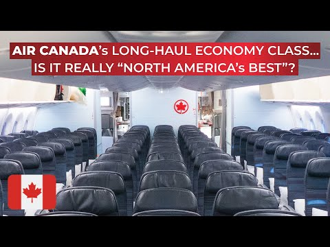 BRUTALLY HONEST Review Of Air Canada's Trans-atlantic Economy Class Aboard The Boeing 787!
