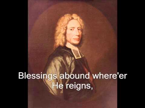 Jesus shall reign (Hymn with music and words) - Isaac Watts