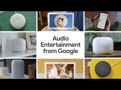 Audio Entertainment from Google