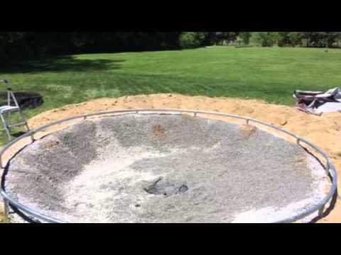 in ground trampoline youtube. Black Bedroom Furniture Sets. Home Design Ideas