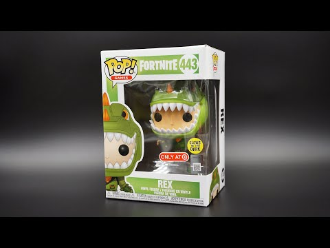 Fortnite - Rex Glow In The Dark Funko Pop - Target Exclusive