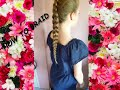 HOW TO BRAID YOUR HAIR | AND STYLE IT...