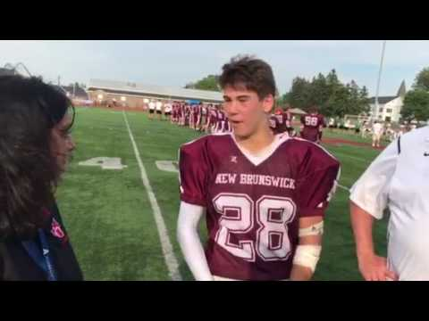 Postgame interview with New Brunswick
