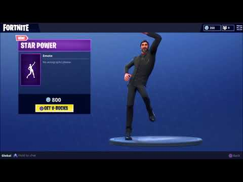 Fortnite Dance: Star Power