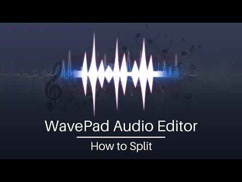 WavePad Audio Editing Tutorial | How to Split Audio