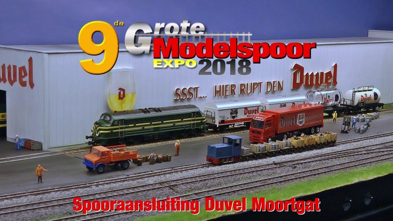 modelspoor expo 2018 spooraansluiting duvel moortgat youtubemodelspoor expo 2018 spooraansluiting duvel moortgat