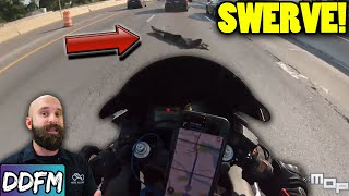 Extreme Close Call & One Lucky Rider - Motorcycle Close Call AAR