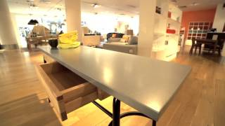 Habitat UK - Yeoman Zinc Top Table & Dining Furniture Collection