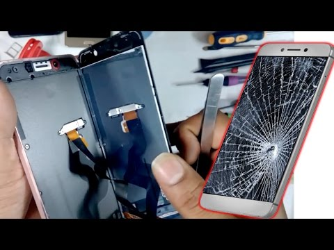 LeEco (Letv) Le 1s  ||  LeTV Le 2 Broken ( Damaged ) LCD Screen Replacement-escbaig