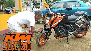 Taking Delivery of my KTM DUKE 200 2018 || New Beast || Orange 2K18