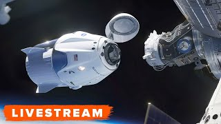 WATCH: SpaceX/DM-2 Crew Dragon Docking and Hatch Opening - Livestream