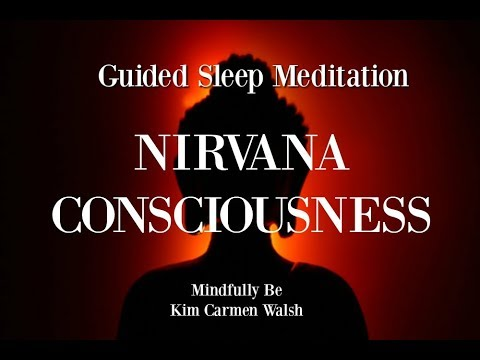 😴 Nirvana Consciousness ~ Guided Sleep Meditation ~ Tuning into your intuitive mind