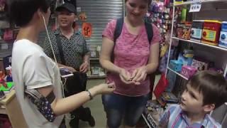 Игрушки и одежда на рынке Сунган в Шэньчжэнь - Жизнь в Китае #102