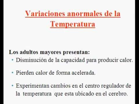 como tomar la temperatura a un adulto mayor