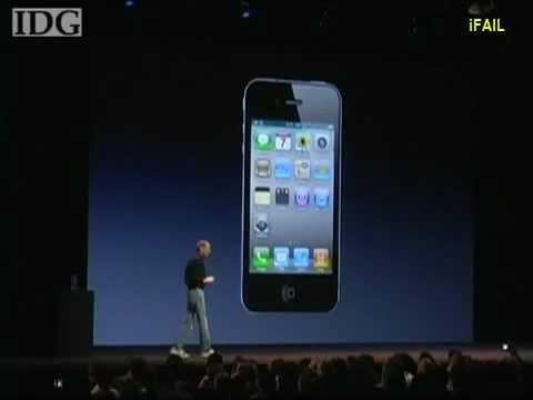 Apple Demo Failure 2010 (iPhone Wi-Fi Fail)