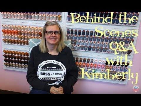 Behind the Scenes Q&A with Kimberly | Sneak Peaks and Quilty Questions!