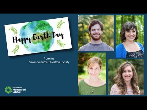 Happy Earth Day from Greensboro Montessori School