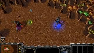 World Editor Versus - Archimonde (Warlock) vs Cenarius (NIght Elf Demigod)