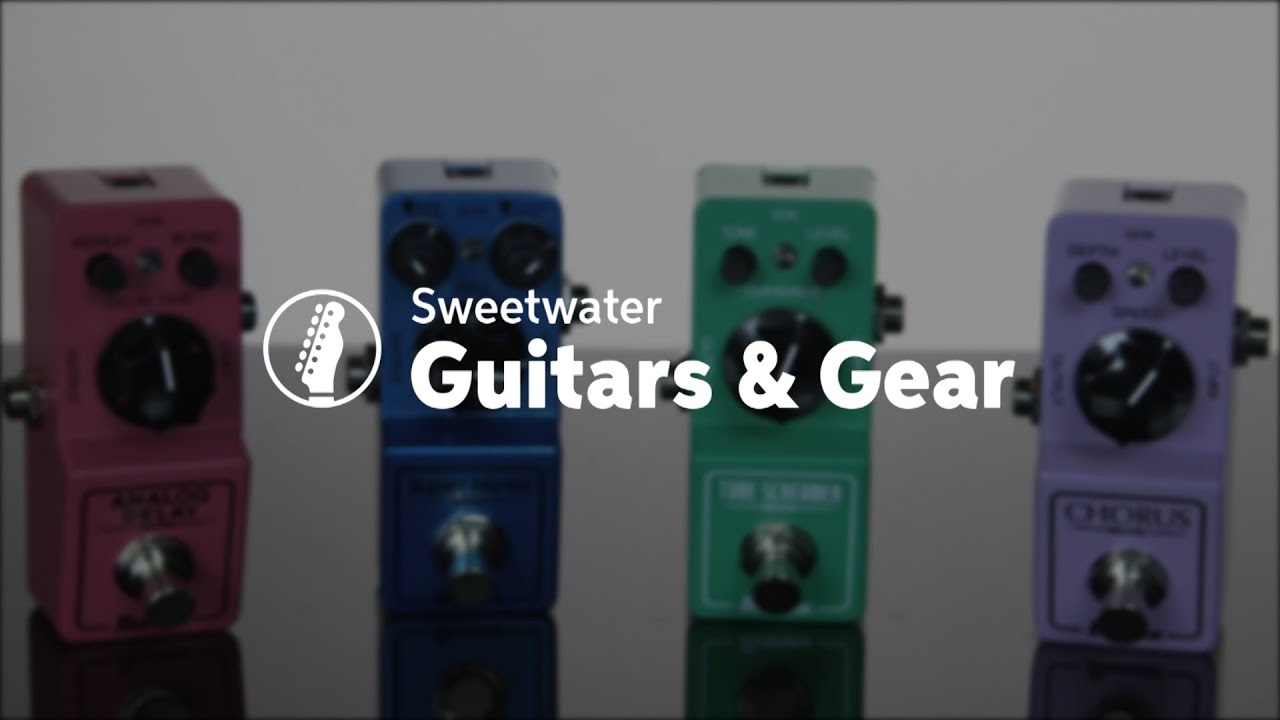 ibanez mini effects pedals review by sweetwater youtube