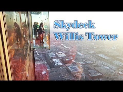 Skydeck Willis Tower - Chicago, IL