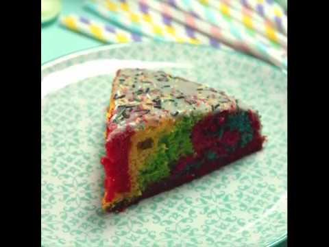 rainbow cake mesrecettes e leclerc drive