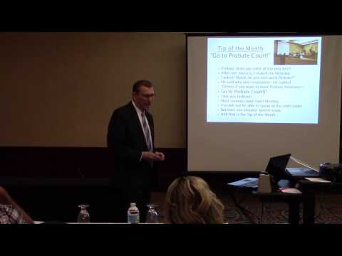 """Tip of the Month  """"Go to Probate Court"""" by Dennis Henson"""