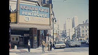 San Francisco 1968 archive footage