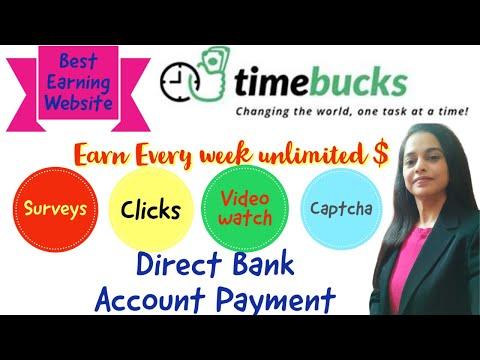 Best Online Earning Website I Timebucks.Com I Earn $ Online I Surveys, Mobile Captcha, Clicks I WFH