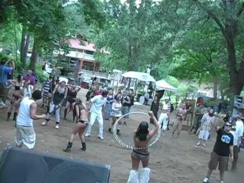 Black Rock City Allstars NO PANTS PARTY @ The BIG BOUNCE 2010