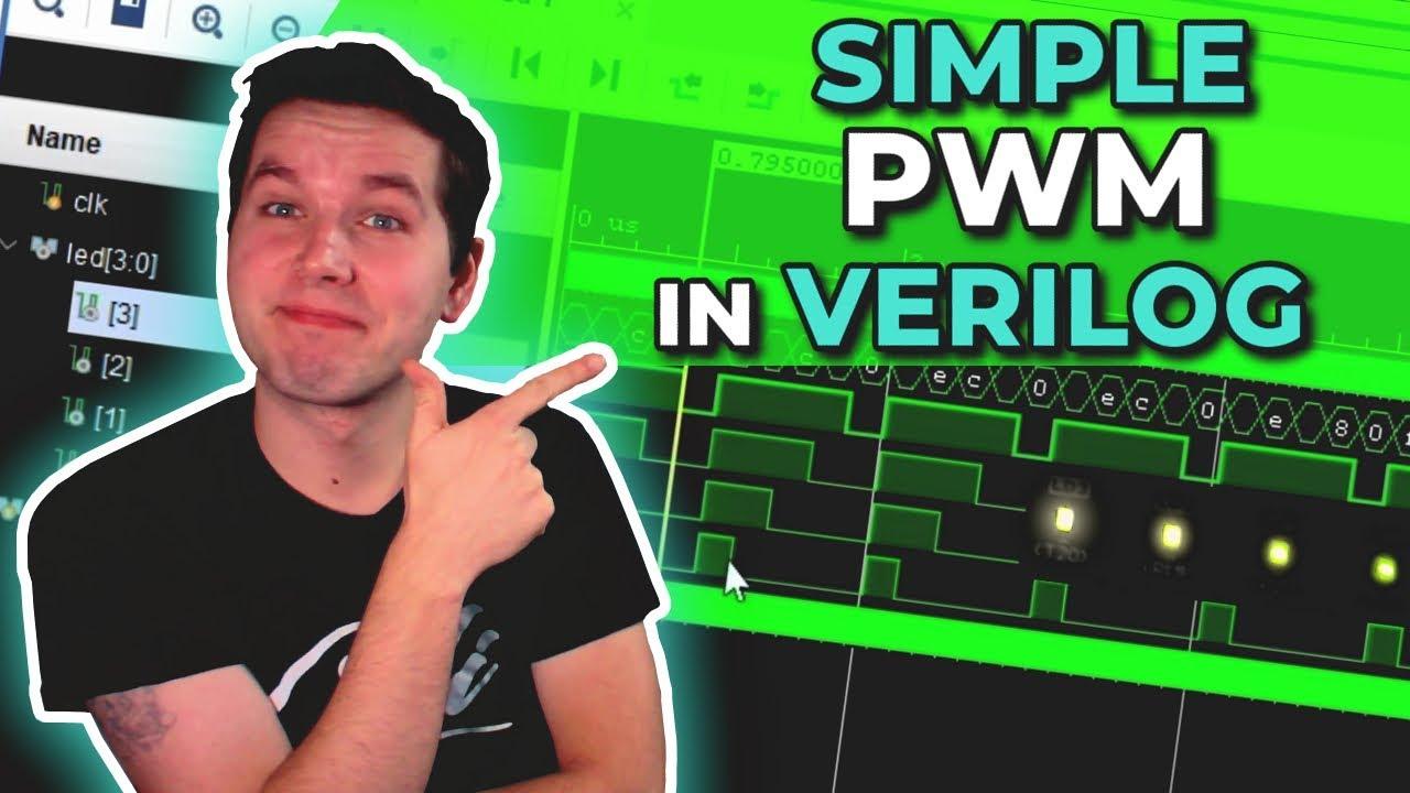 How to Create PWM in Verilog on FPGA? | Xilinx FPGA Programming Tutorials