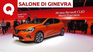 Nuova Renault Clio 2019: la quinta generazione apre la sfida alla 208 - Salone di Ginevra 2019