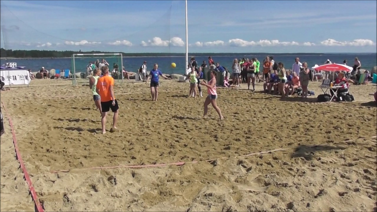 åhus beachhandboll live