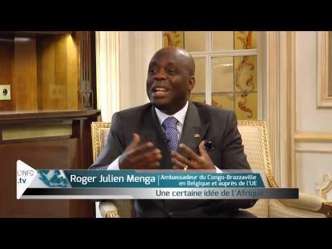 NETINFO.TV : Roger-Julien MENGA, Ambassadeur du Congo à Bruxelles