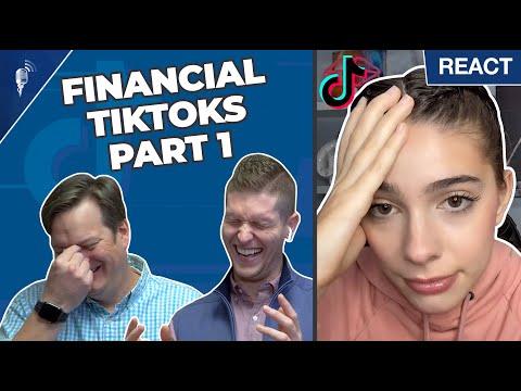 Financial Advisors React to Money Advice on Tik Tok!