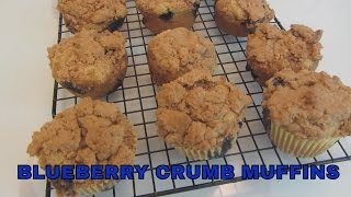Gluten Free Blueberry Crumb Muffins ~ Arrowhead Mills All Purpose Baking Mix