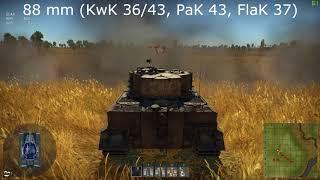 War Thunder : New German Gun Sounds (1.77)
