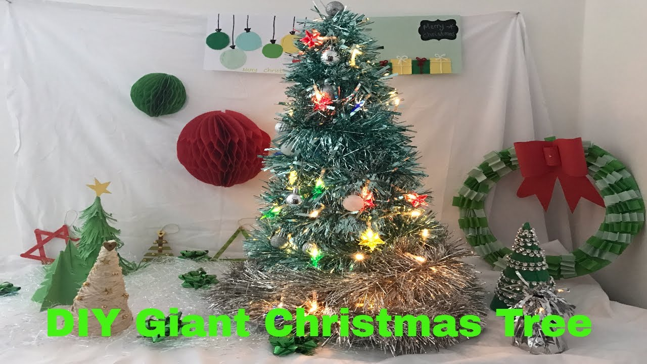 Make Your Own Giant Xmas Tree