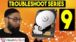 Pt 9 | Troubleshoot A Hard Disk Drive | No Bootable Device Insert Boot Disk And Press Any Key