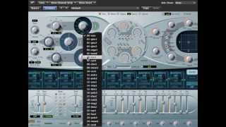 Logic Pro 9 - ES2 Synthesizer Tutorial Part 1 - Oscillators, Global Settings