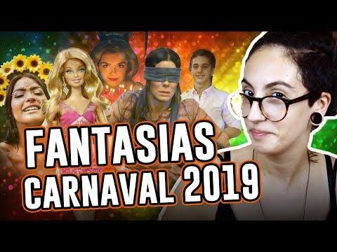 IDEIAS FANTASIAS CARNAVAL 2019 - Dicas e tendências  Luma Show
