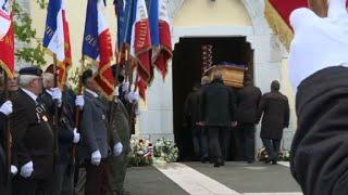 Arrivée du cercueil d'Alain Bertoncello en Savoie pour la célébration de ses obsèques | AFP Images