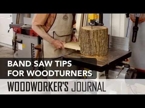 Band Saw Tips for Woodturners | Cutting Bowl Blanks